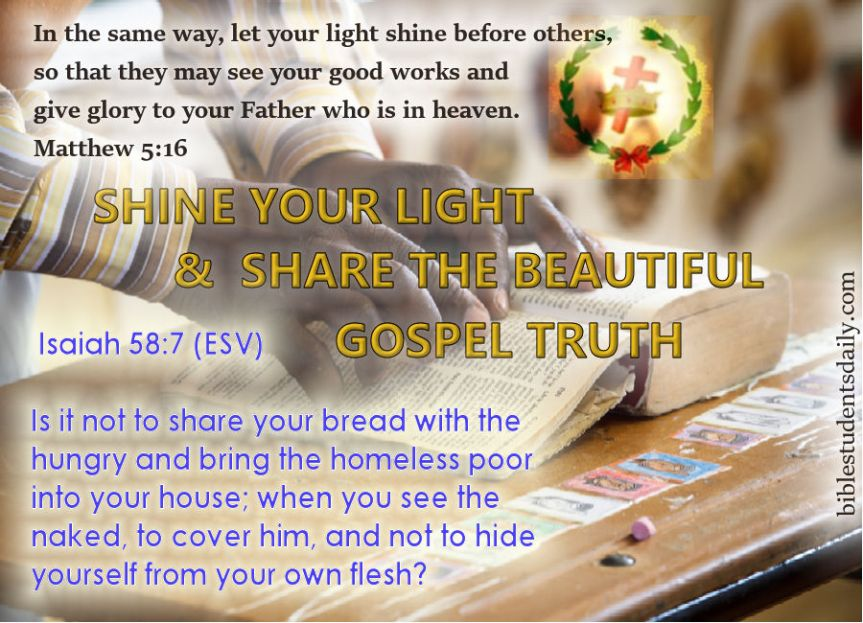 SHINE AND SHARE -WITH ADDRESS