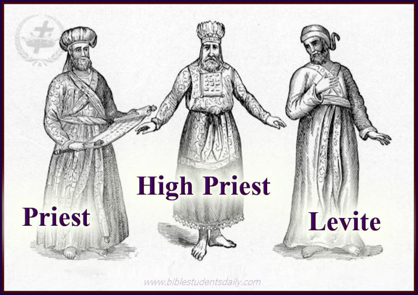 THE HIGH PRIEST, UNDER PRIEST & LEVITE - BEAUTIES OF THE TABERNACLE- STUDY 6 - THE LEVITES..jpg