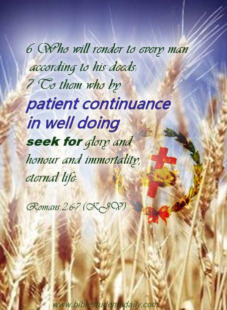 Romans 2, 6-7 - c