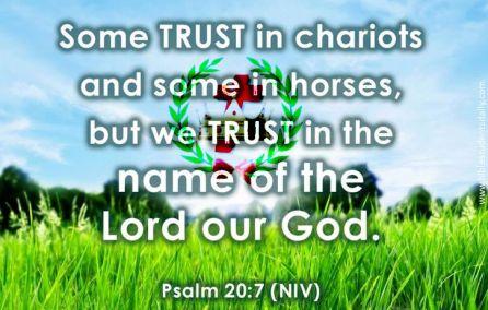 PSALM 20, 7