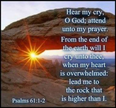 PSALM 61, 1-2